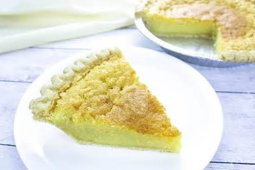 "Deep Dish Buttermilk Chess Pie""This is just an old-fashioned chess pie. Best..."
