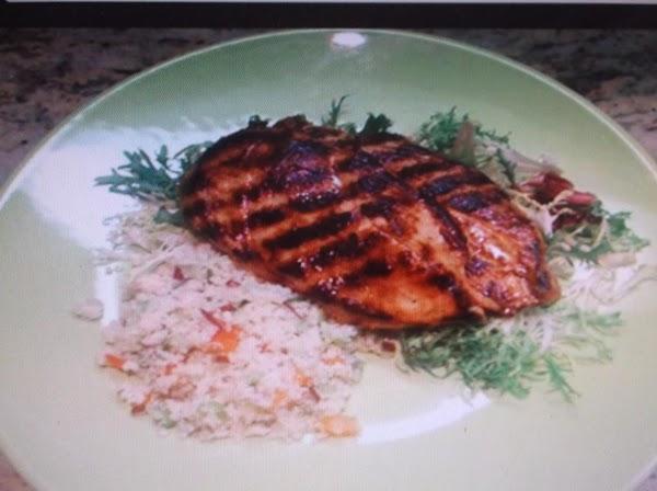 Grilled Chicken Breasts (spicy Orange) Recipe