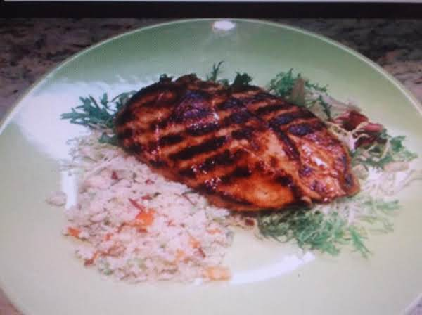 Grilled Chicken Breasts (spicy Orange) Recipe