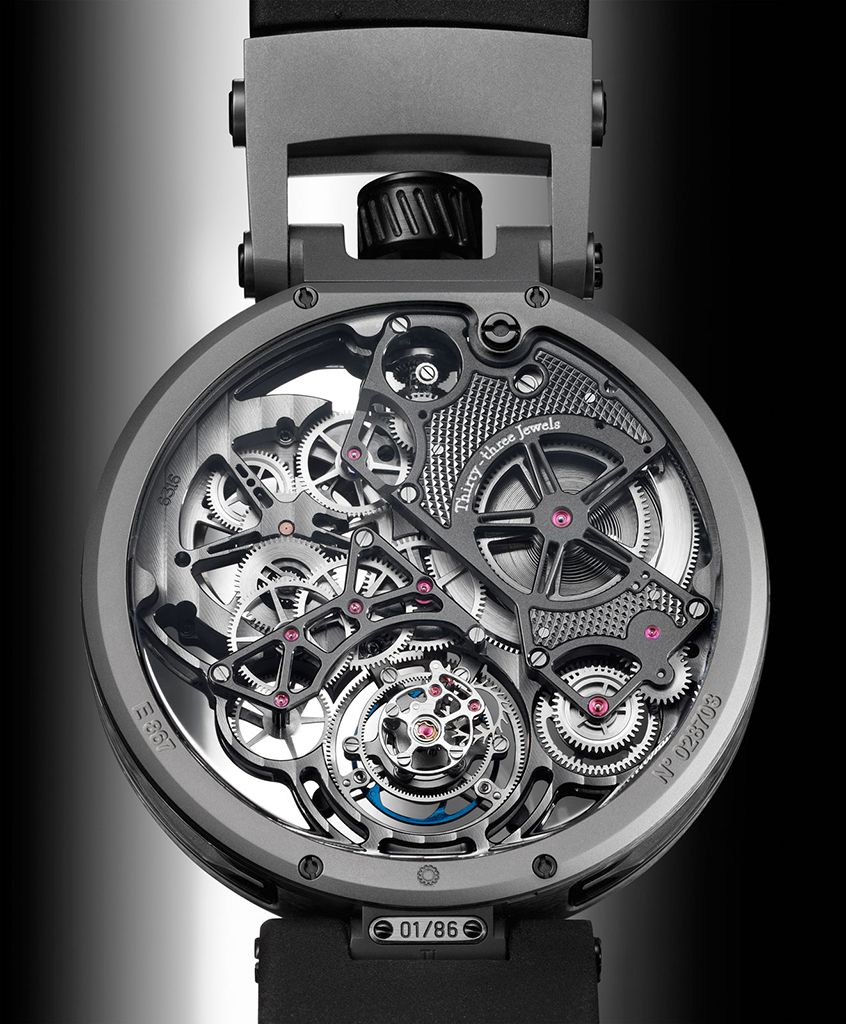 Bovet OttantaSei Tourbillon.