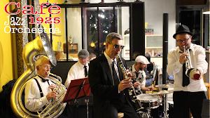 """Concert de Jazz avec l'orchestre """"Café 1925""""."""