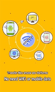 Zapya - File Transfer, Sharing Screenshot