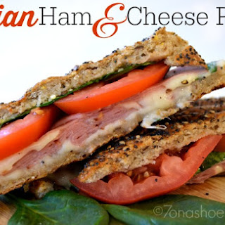 Italian Ham and Cheese Panini