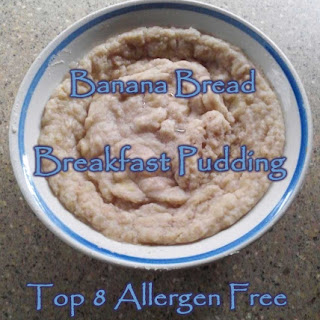 Banana Bread Breakfast Pudding ~ Gluten Free Grain Free Paleo