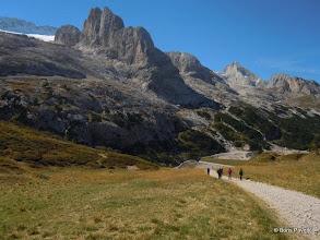 Photo: prvi dan krećemo na brdo nasuprot marmoladi