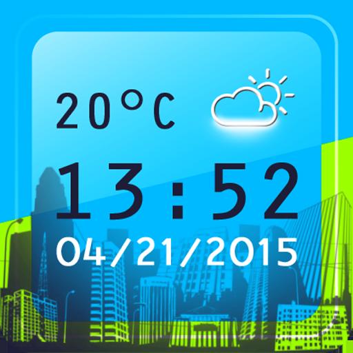 世界 数字 时钟 個人化 App LOGO-硬是要APP