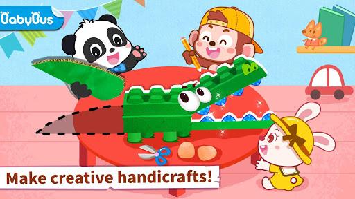 Baby Panda's Animal Puzzle screenshot 1