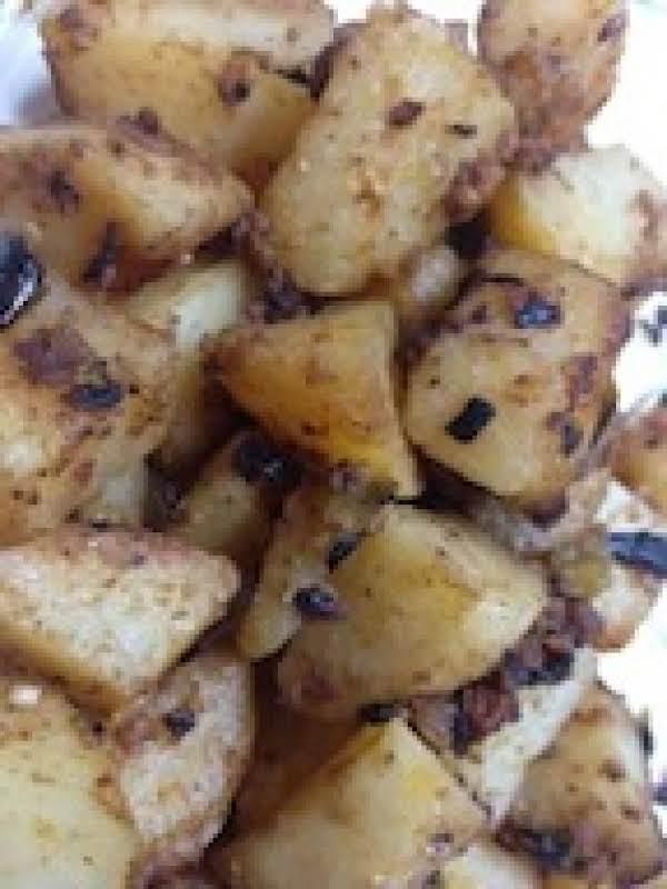 Roasted Chorizo Potatoes. These Were So Yummy!