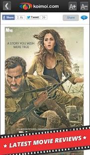 Bollywood News Reviews Videos- screenshot thumbnail