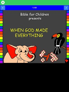 Bible for Children- screenshot thumbnail