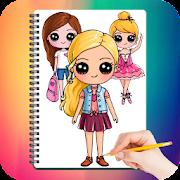 Drawing Cute Chibi Girls