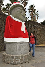 Photo: The guardians of Jeju were dressed in Christmas costume!