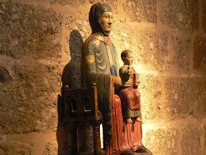 Photo: la Vierge en majesté