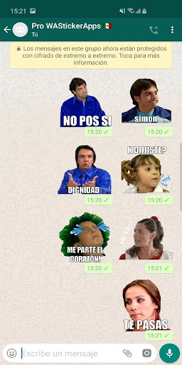 ?? Mexican memes Stickers - New WAStickerApps 2.8.0 screenshots 1