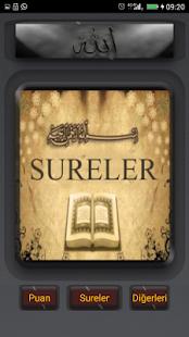 Namaz Sureleri ve Mealleri - náhled