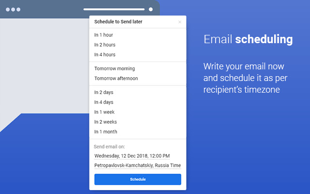 Free Email tracking, Scheduling & Templates