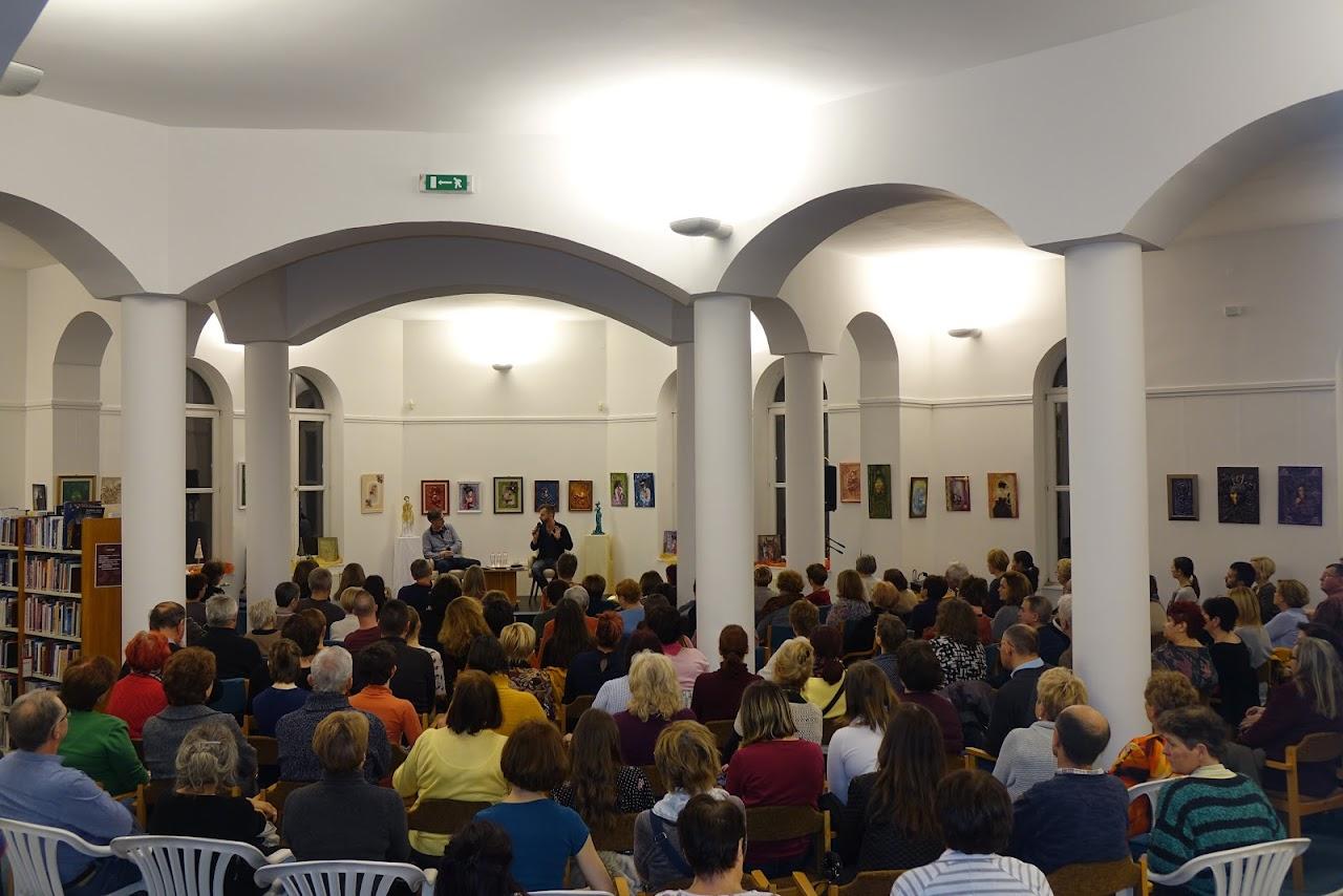 Grecsó Krisztián író-olvasó találkozó