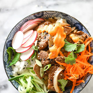 Korean Beef Bulgogi Bowls