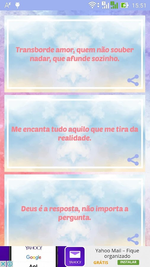 Frases para Tumblr- screenshot