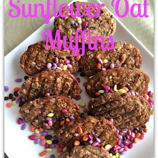 Sunflower Oat Muffins