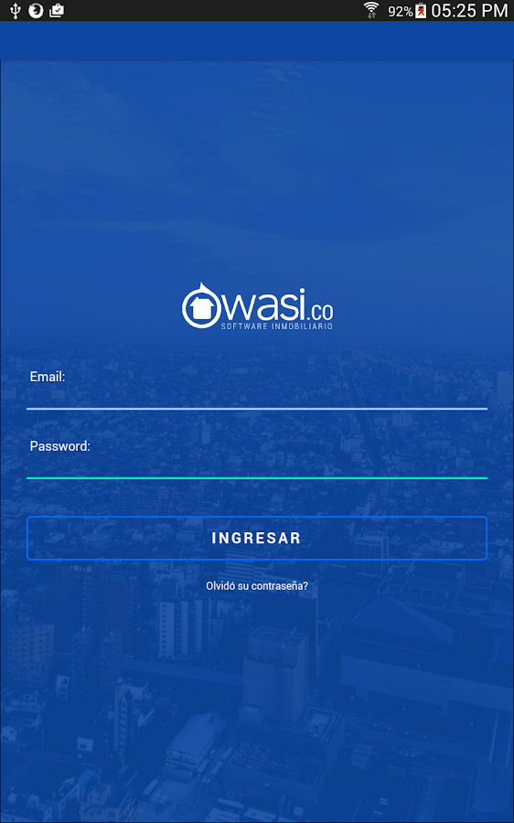 Wasi- screenshot