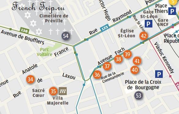 Туристический маршрут по Нанси: стиль Ар-Нуво - от вокзала на запад. Архитектура в стиле Ар-Нуво в Нанси, достопримечательности Нанси