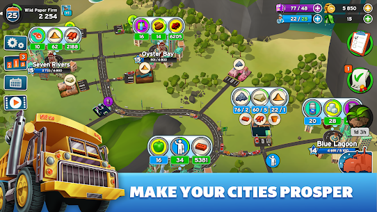 Transit King Tycoon MOD Apk 3.24 (Free Purchases) 3