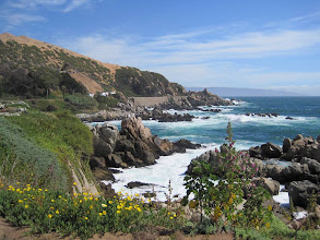 Photo: Day 2 - South Pacific Coast north of Vina del Mar in Chile