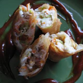 Pok Piah (Indonesian egg roll).