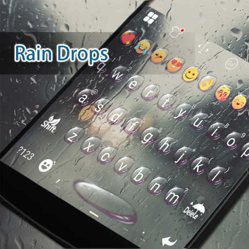 Rain Eva Keyboard -DIY Gifs 遊戲 App LOGO-硬是要APP