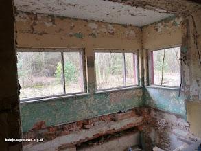 Photo: Wnętrze dawnej nastawni