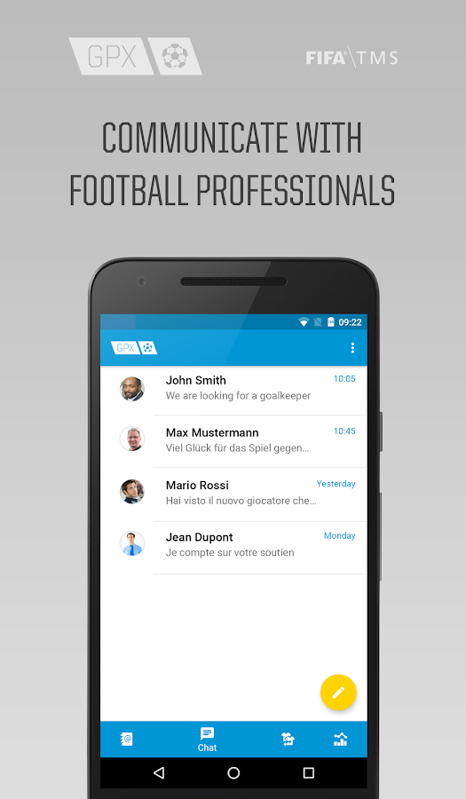 GPX Football Business- screenshot