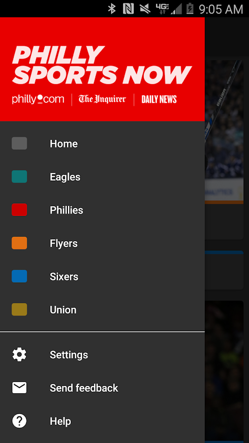 Philly Sports Now- screenshot