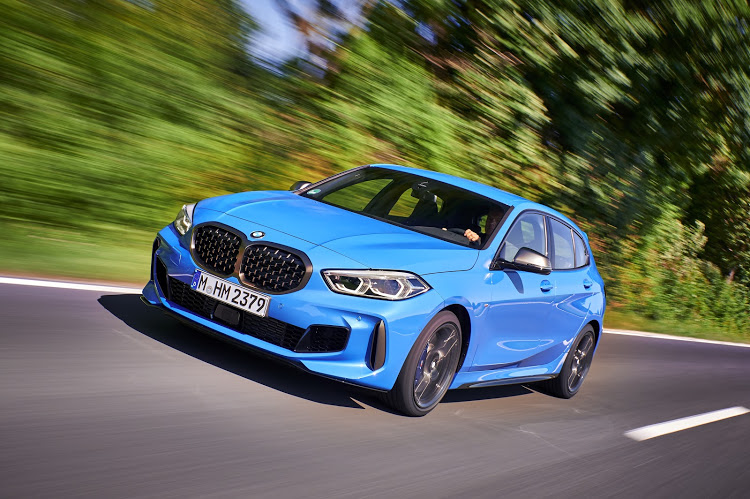 The new 1 Series looks more youthful and athletic.