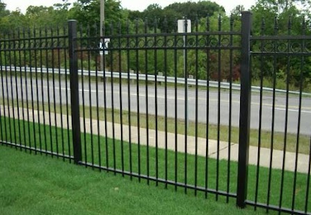 metal fence design ideas screenshot thumbnail - Fence Design Ideas