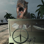 VR T-Rex Escape: Jurassic Racing Simulator Icon