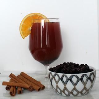 Wild Blueberry Hot Spiced Cider