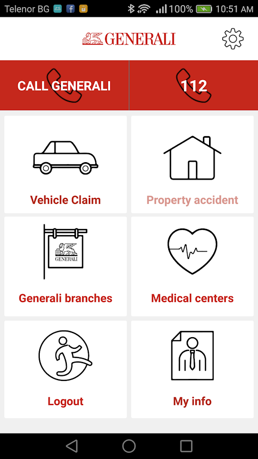 Generali Insurance- screenshot