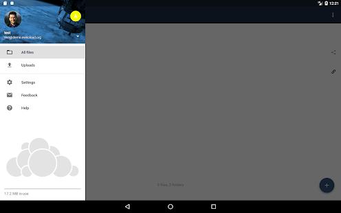 ownCloud Screenshot