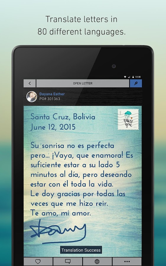 lettrs - screenshot
