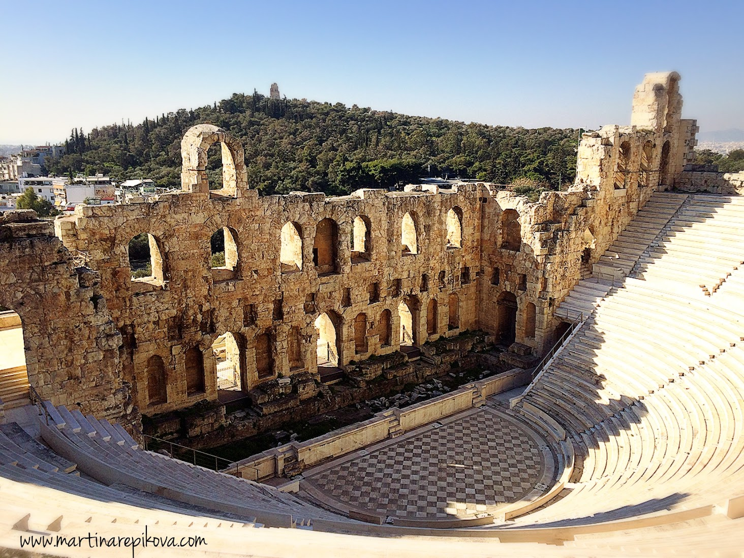 Odeon of Herodes Atticus - a theatre, Athens, Greece