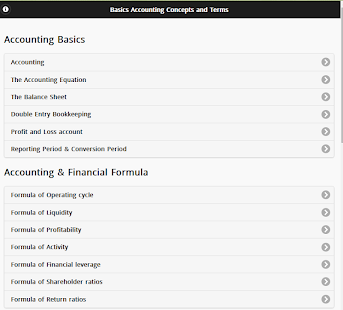 double dating financial statements