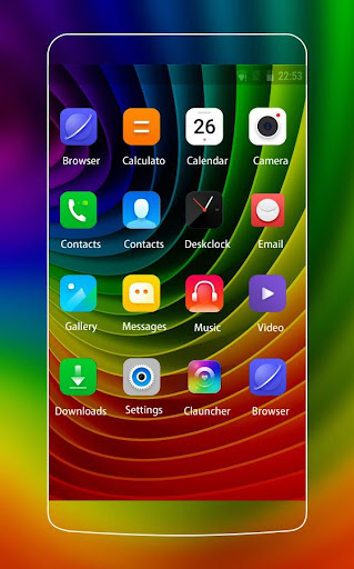 Rainbow Theme for Lenovo A2010 1.0.1 screenshots 2