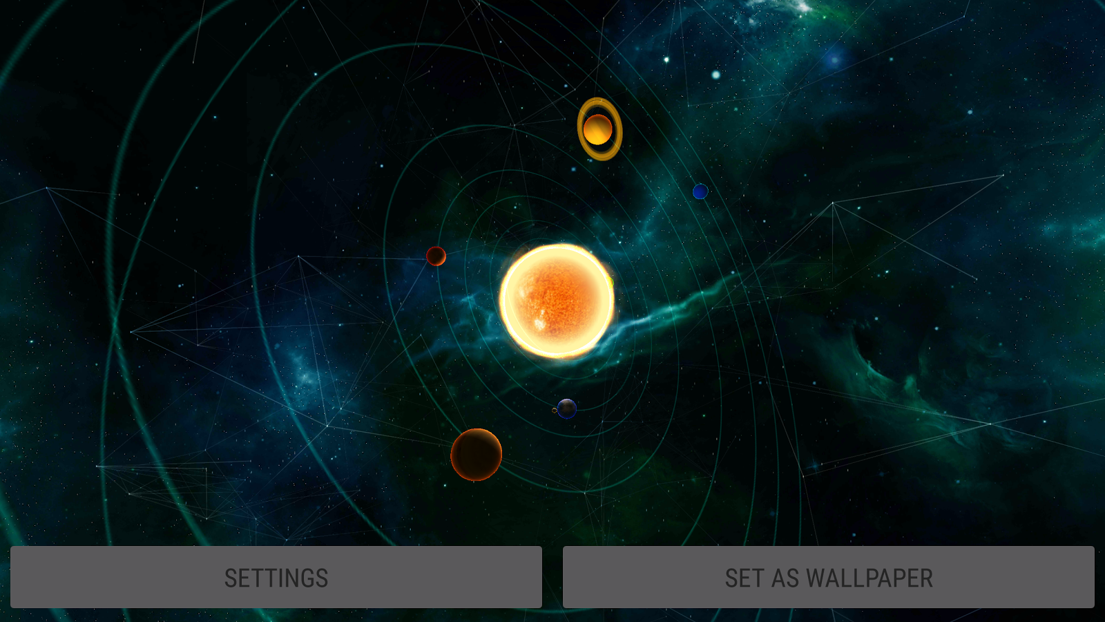 Gyro Solar System 3D Live Wallpaper - Android Apps on ...