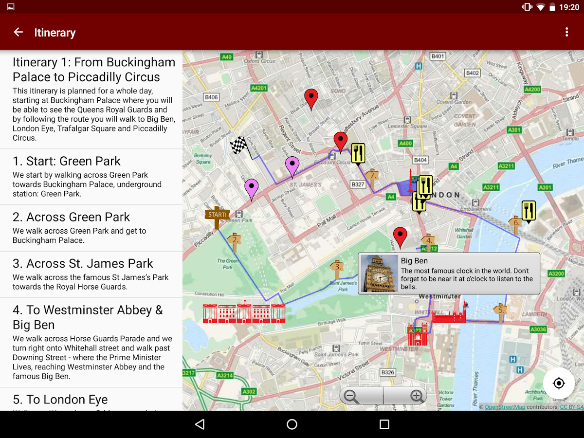 London Guide Map Routes Android Apps On Google Play - London map guide