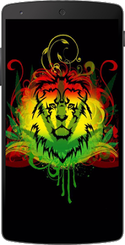 Rasta Weed Live Wallpaper By Zinga Apps Poster
