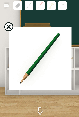 Schoolしょんぼりチャーリーと不思議な教室_鉛筆削り