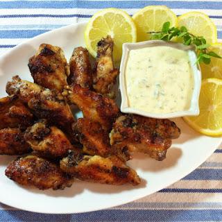 Greek Chicken Wings.