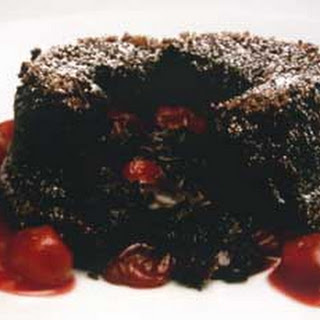 Black Forest Molten Cake