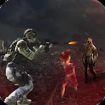 Modern Action Commando Zombie Shooting Games Icon